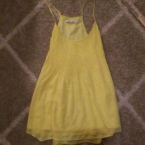 Rebecca Minkoff yellow top